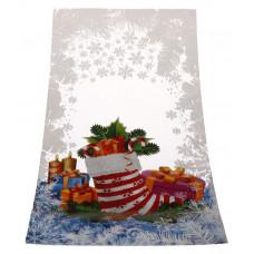 OPP maisiņš 200x380+3FDmm, 30my Ziemassvētku zābaciņš