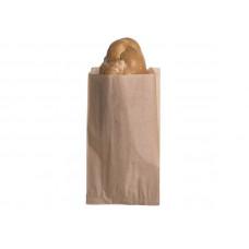Popierinis maišelis 150+60/70x280 mm, rudas