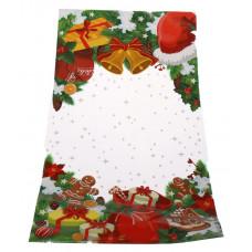OPP maisiņš 200x380+3FDmm, 30my Ziemassvētku dāvanas
