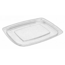 Lid for rectangular container 750-1000ml 190*165mm, transparent OPS