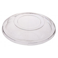 Lid for round container 1000ml 180*180*75mm traukam, transparent OPS
