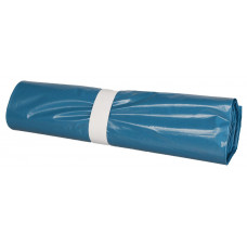 Trash bags 100L 700x1100mm 60my, blue LDPE