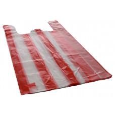 Bags with handles 25+12x45 cm krāsainis HDPE