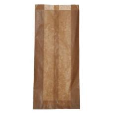 Papīra tūta 120+50x270 mm, brūna
