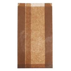 Papīra tūta 150+65x280 mm, brūna