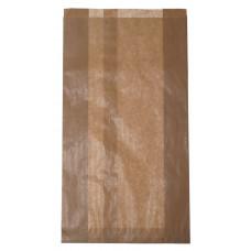 Papīra tūta 200+80x360 mm, brūna