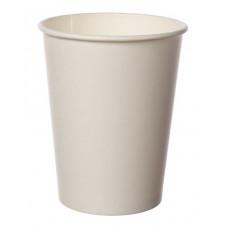 Papīra glāze 250ml 80mm, balta