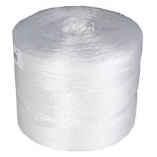 PP twine, white, 2400m per roll