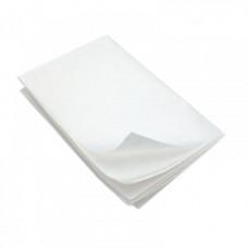 Pergamenta papīrs loksnēs 500x700mm, balts