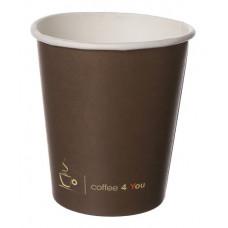 Papīra glāze 250ml 80mm, Coffee 4 You