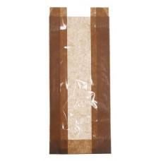 Papīra tūta 100+60x240mm ar PP logu17801