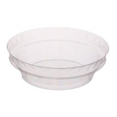 Lid for round container 150ml 95*95*40mm, transparent OPS