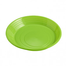 Plate 210mm, green PS