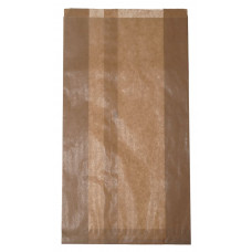 Papīra tūta 180+60x290 mm, brūna