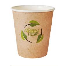 Papīra glāze 300/380ml Green Leaf