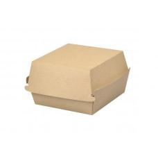 Dėžutė mėsainiui M, kraftpopierius / PE
