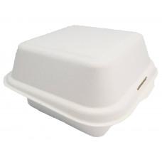 ECO cukranendrių dėžutė maisto išsinešimui 153 * 147 * 75mm, balta